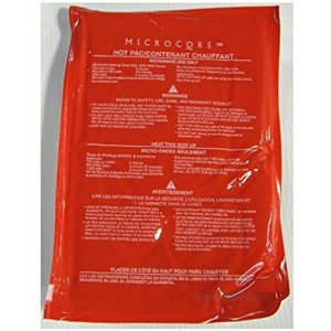 Vesture 7 X 10 Microcore Replacement Hot Red Pack for Microwave Heating Durable and Stays Hot for Several Hours